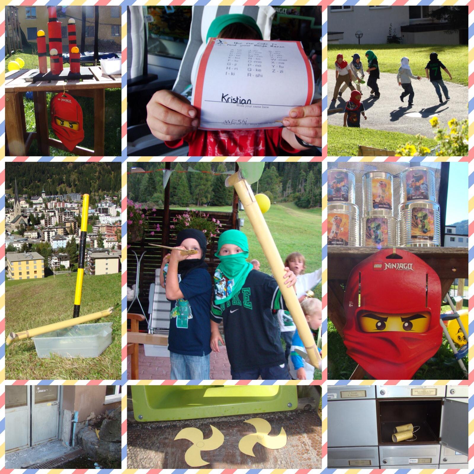 Lego Ninjago Party 4boys On The Mountain