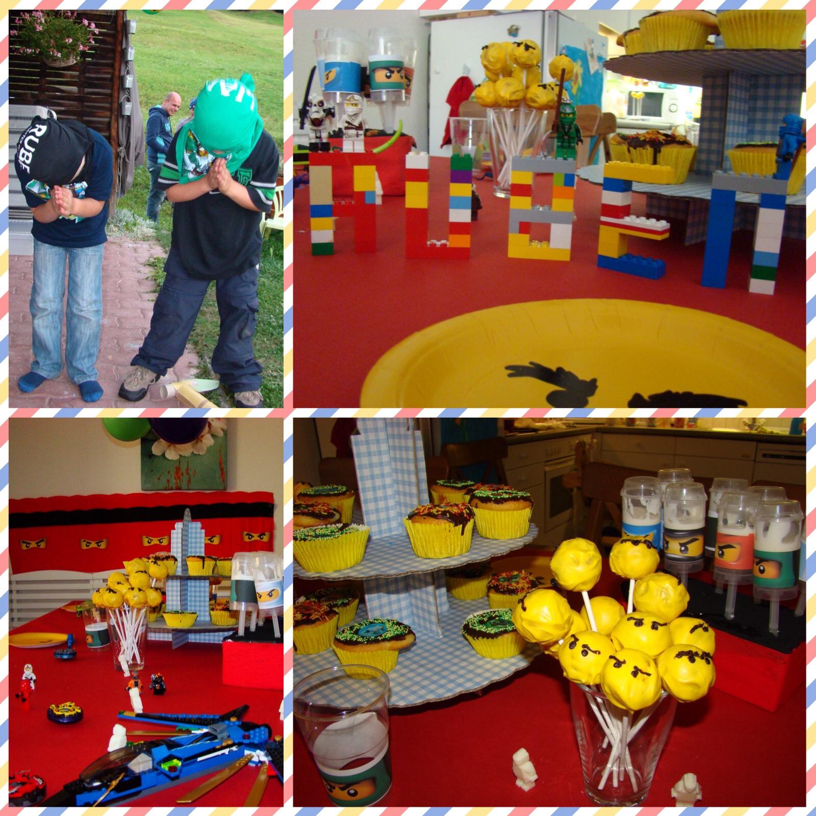 Lego Ninjago Verjaardag.Lego Ninjago Party 4boys On The Mountain