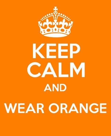 Keep calm and wear orange koningsdag