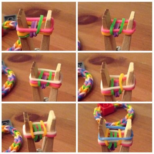 Lego loom band knijper 2