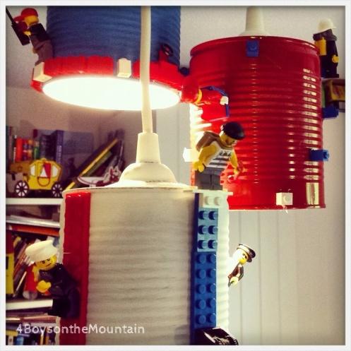 Lego lamp 4boysonthemountain