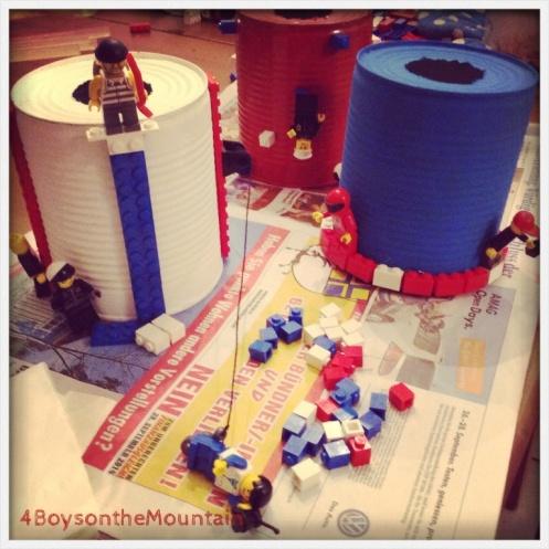 Lego lamp - 4boysonthemountain