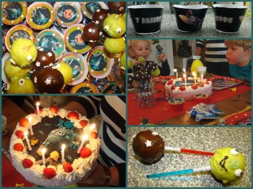Joppe - cake Angry Birds Star Wars