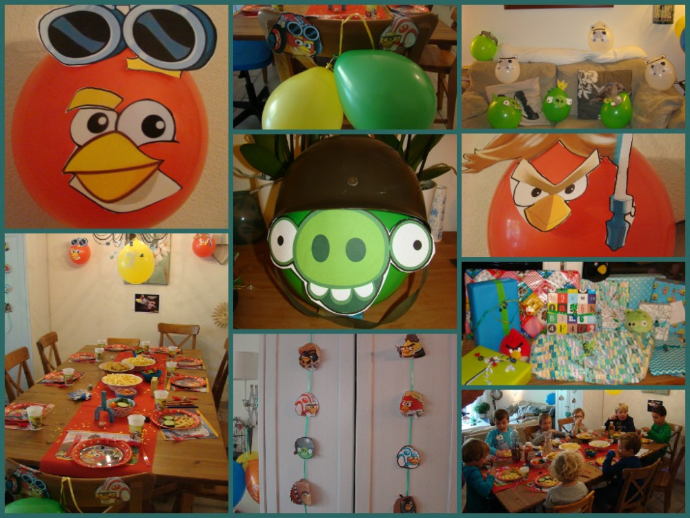 Joppe - decoration Angry Birds Star Wars