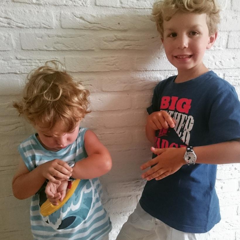 Twistiti horloge voor kinderen